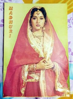 Rare Vintage Bollywood Madhuri 12