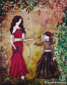 Christmas images, inspirational holiday, holiday images for licensing, mother and daughter, Christmas tree, Janelle Nichol, beautiful, elega...