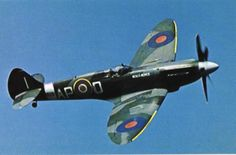 British Spitfire. Single Engine Single Seat,  Real fighter plane.