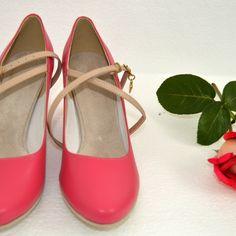 Farebné svadobné topánky - Barevné svatební boty, colour wedding shoes, ružová, pink Flats, Heels, Fashion, Loafers & Slip Ons, Heel, Moda, Fashion Styles, High Heel, Ballerinas