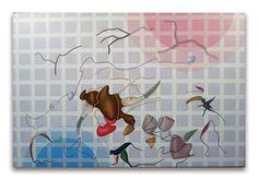 2001- Crop, acrilici su tela, cm  80x120