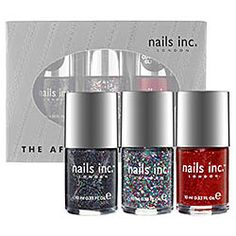 nails inc. - The After Party  #sephora    Love these colors.