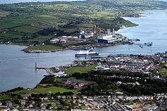 1500 ft high above Larne Town, County Antrim:: OS grid :: Geograph Ireland . Northern Ireland Map, East Coast, Old Photos, Scotland, Europe, River, Adventure, Places, Outdoor