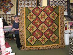 Mystery Quilt -OK I Confess Debbie Caffrey pattern