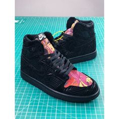 half off 08c12 89fb8 Tropical Rainforest Air Jordan 1 Aj1 Loe Michael Jordan Flying Man I Generation  Classic Culture High Basket Sneaker