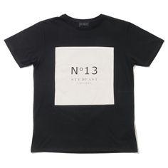 Stedfast London Black tshirt N°13 mens