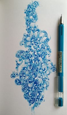 By Gentian Osman. Done with a Muji Gel Pen in a Stillman & Birn Epsilon Sketchbook.