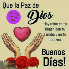 Morning Memes, Good Morning Quotes, Happy Week, God Prayer, Morning Messages, Love Messages, Spanish Quotes, God Is Good, Spiritual Quotes