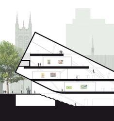 Musée national des beaux-arts du Québec, Bjarke Ingels Group (BIG) / FA architectes, Canadian Competitions Catalogue / Catalogue des Concours Canadiens