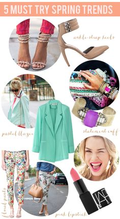 La Petite Fashionista: 5 Must Try Spring Trends + How to Style Them!