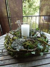Bild 3 von 7 – Tisch ideen Image 3 of 7 Image 3 of 7 The post Image 3 of 7 appeared first on table … Vintage Christmas, Christmas Time, Christmas Wreaths, Christmas Centerpieces, Christmas Decorations, Table Decorations, Diy Decoration, Pagan Yule, Winter Floral Arrangements