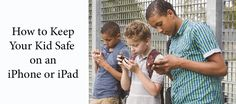 A few simple steps can block your child from viewing inappropriate content on an iPhone and other iOS devices.