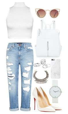 """""""Silver Jewelry"""" by wilmalundberg ❤ liked on Polyvore"""
