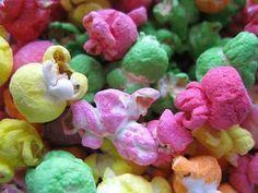 Rainbow Popcorn: How to Dye Popcorn!