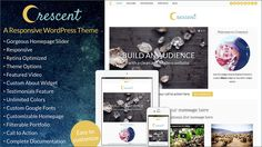 My latest #WordPress theme, Crescent, is perfect for bloggers, creatives, businesses, or service providers. It's responsive, has a custom About Widget, and has lots of customization options.  http://bottomlessdesign.com/demos/crescent/