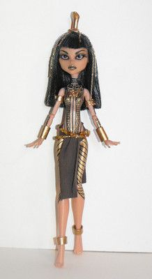 Ancksunamun The Mummy OOAK Monster High Schools Out Cleo de Nile Repaint | eBay