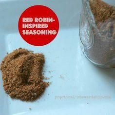 Homemade Red Robin Seasoning