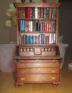 Dollhouse Scale 1:12 Miniature Dollhouse Books Book Bookshelf supplies 1to12