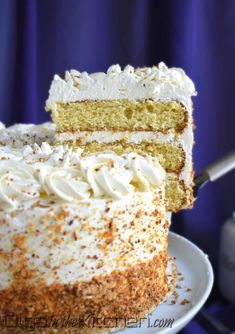 Honey Cake With Sour Cream Frosting Olga In The Kitchen Recipe In 2020 Sour Cream Cake Gourmet Cakes Flavors Sour Cream Frosting