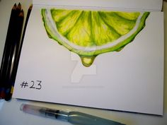 Inktober 23 - Juicy by RuthALawrence.deviantart.com on @DeviantArt