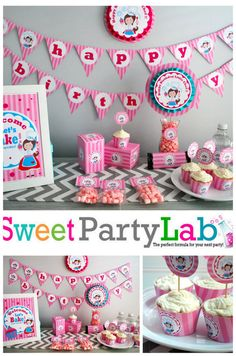 Little Chef Party Printable Baking Party by PartyLab on Etsy