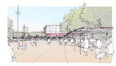 Réunion publique pour la présentation du projet urbain du Grand-Parc | Bordeaux 2030. Base Paysagistes