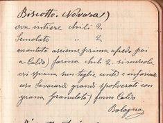 la ricetta originale dei biscotti di Novara di Luigi Margutti, fondatore del biscottificio della Gobba.