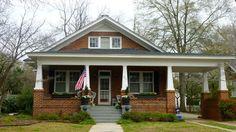 Home in Shandon neighborhood, Columbia, South Carolina