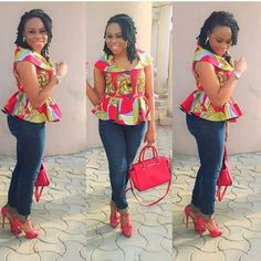These fashionistas are proving Ankara print is here to stay! Ankara is so versatile and it is pretty cool to know you can sew any design of your choice… African Print Dresses, African Print Fashion, Africa Fashion, African Fashion Dresses, African Dress, African Prints, Men's Fashion, Ankara Fashion, Fashion Women