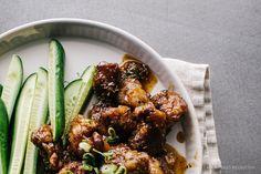 Honey Garlic Beef Recipe - www.iamafoodblog.com