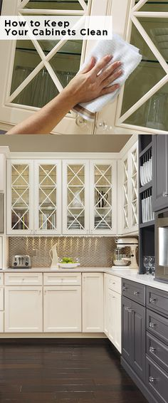 Don't exclude your #cabinets from your #cleaning routine. Here are our tips to preserve the value of your Omega cabinets.