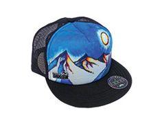 Sidebar Hat, available at Enjoy the Store Redding CA  #summerhat #truckerhat #artwork