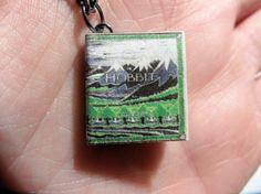 Hobbit Miniature Book Pendant Necklace