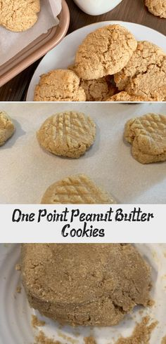 One Point Peanut Butter Cookies Soft Ginger Cookies, Lemon Drop Cookies, Whipped Peanut Butter, Peanut Butter Cookies, Ww Recipes, Cookie Recipes, Butter Extract, Recipe Builder, Kodiak Cakes