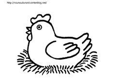 """Résultat de recherche d'images pour """"dessiner une poule"""""""