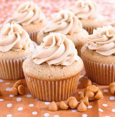 Double Butterscotch Cupcakes