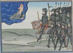 Epitre d'Othea, by Christine of Pizan -- Cod. Bodmer 49, 136v (Cologny, Fondation Martin Bodmer)