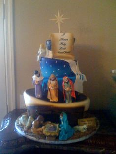 Cake Decorating Garden Scene : 1000+ images about Winter wonderland cakes and cookies on ...