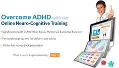 Overcome ADHD with comprehensive cognitive online program