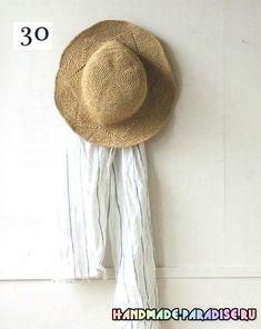 (무료 공개 도안) 봄, 여름 모자 : 네이버 블로그
