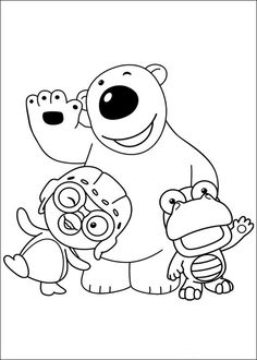 14 Pororo printable coloring pages for kids. Find on coloring-book thousands of coloring pages. Penguin Coloring Pages, Printable Coloring Pages, Coloring Books, Disney Coloring Sheets, Coloring Sheets For Kids, Colouring Sheets, Kids Coloring, Penguin Party, Computer Animation