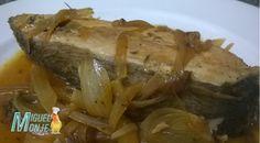 RECETAS DE PESCADO PALOMETA ENCEBOLLADA Pasta, Meat, Chicken, Food, Fish Recipes, Homemade Recipe, Easy Cooking, Salads, Noodles