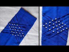 (ঈদ স্পেশাল)হাতার ডিজাইন তৈরি /New Sleeve Design Cutting And Stitching Salwar Neck Designs, Dress Neck Designs, Fancy Blouse Designs, Kurta Designs Women, Sleeve Designs, Kurti Sleeves Design, Sleeves Designs For Dresses, Stylish Blouse Design, Stylish Dress Designs