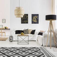 Welcher Teppich fürs Wohnzimmer?