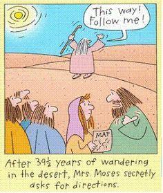 Directions-Catholic humor