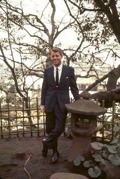 Robert Kennedy in Japan, 1965.
