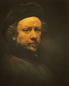 Rembrandt van Rijn - Selfportrait, 1657