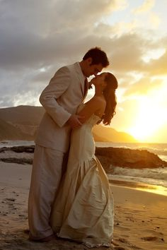 Beach Weddings at Sunset