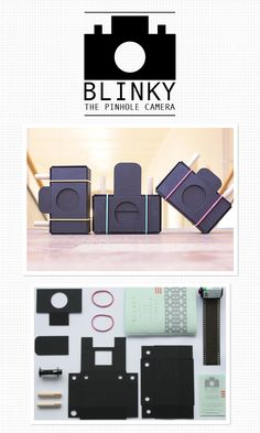 """super cute pinhole cameras. the link doesn't involve the instructions but rather shows a larger image of whatever comes in their """"kit""""."""
