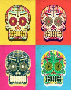 Dia de los muertos art inspiration